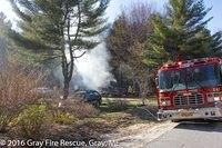 Forest Lake Rd - Fire - 04-24-2016