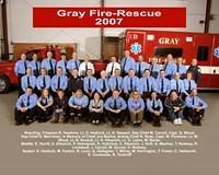 Gray Fire-Rescue Group 2007